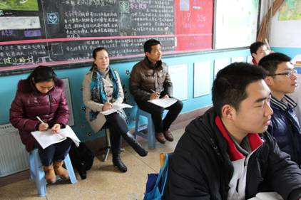 2013年江苏师范大学师范生教育实习一中实习点全程回顾图片